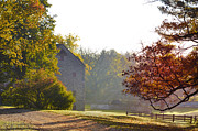 Barn Digital Art - Country Autumn by Bill Cannon