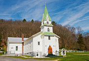 Moyers Prints - Country Church 1 2012 Print by John Radosevich
