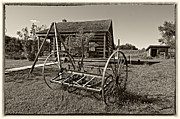 Country Classic Monochrome Print by Steve Harrington