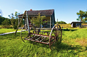 Farm Equipment Digital Art - Country Classic oil by Steve Harrington