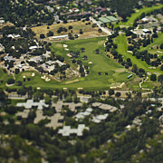 San Mateo County Prints - Country Club Golf Course Print by Eddy Joaquim