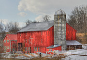Barn Digital Art - Country Feeling by Sharon Batdorf