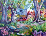 Country Garden Print by Saga Sabin