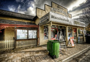 Town Character Prints - Country Grocer Print by Wayne Sherriff
