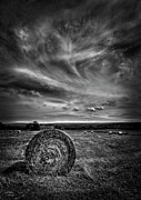 Hay Bale Photos - Country High by Evelina Kremsdorf