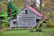 Farm Building Posters - Country Life Poster by Todd Hostetter