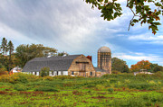 Silos Posters - Country Living  Poster by Andrew Pacheco