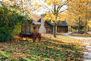 Indiana Landscapes Photo Prints - Country Living Print by Franklin Conour