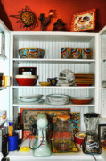 Pantry Prints - Country Pantry Print by Edward Sobuta