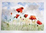 Marie Patri - Country poppies