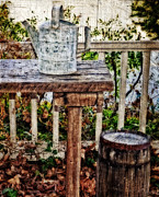 Shed Metal Prints - Country Porch Metal Print by Kathy Jennings