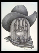 Diana Lehr Prints - Country Radio Print by Diana Lehr