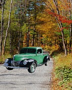 Scenic Drive Photo Posters - Country Roads Poster by Cheryl Young
