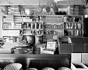 Cheese Shop Prints - Country Store Interior Print by Jan Faul