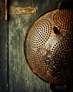 Rusty Door Prints - Country Vignette Print by Lisa Russo