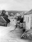 Poor People Prints - Country Village - Ireland - c 1887 Print by International  Images