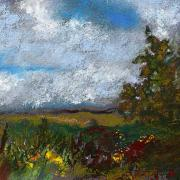Miniature Pastels - Countryside II by David Patterson