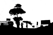 Silhouettes Originals - Countryside by Mukesh Srivastava