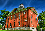 Finger Lakes Photos - County Building I by Steven Ainsworth