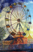 Stairs Painting Posters - County Fair Poster by Gary Smith