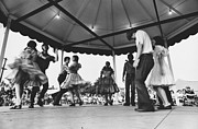 Dancing Girl Posters - County Fair Poster by Roger Wuchter and Photo Researchers