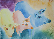 Pig Originals - County Fair by Tracy L Teeter