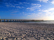 Panama City Beach Fl Prints - County Pier Print by Victor Pacheco