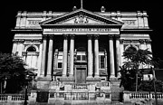 Classical Style Framed Prints - County Sessions House Former Courthouse And Now Offices Of The National Museums William Brown Street Framed Print by Joe Fox