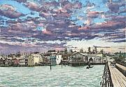 Penn Cove Prints - Coupeville Print by Perry Woodfin
