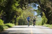 Commitment Photos - Couple enjoying a back road bike ride by Ron Dahlquist - Printscapes