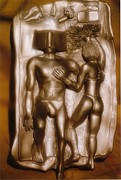 Couples Ceramics - Couple on Beach 2 by Frederick Dost
