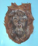 Ape Mixed Media - Courage by Ellen Burns