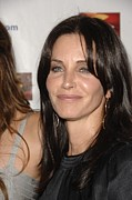 Westin Framed Prints - Courteney Cox At Arrivals Framed Print by Everett