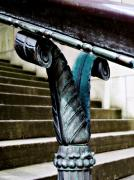 Stairs Downtown Prints - Courthouse Beauty Print by Cathie Tyler