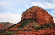 Stately Acrylic Prints - Courthouse Butte Acrylic Print by Kristin Elmquist