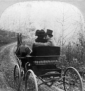 1904 Photos - Courtship/carriage Ride by Granger