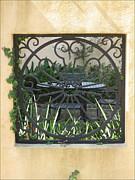 Courtyard Print by Blanche Knake