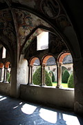 Cloistered Prints - Courtyard Print by Christiane Schulze