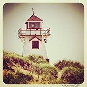 Lighthouse Photos - Covehead Lighthouse by Meg Lee Photography