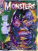 Monsters Mixed Media - Cover Guy by Russell Pierce