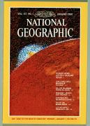 Volcanoes And Volcanic Action Acrylic Prints - Cover Of The January, 1980 Issue Acrylic Print by Nasa
