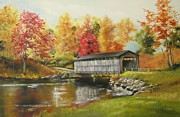 Covered Bridge  Print by Diana  Tyson