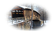 Hump Posters - Covered Bridge Poster by Todd Hostetter