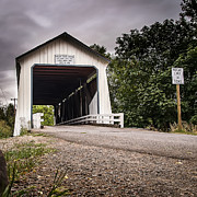 Scenic - Urban - Covered Oregon Bridge by Darcy Michaelchuk