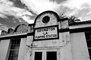 Covington Prints - Covington Pumping Station Print by Scott Pellegrin