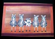 Cow Hide Print by Laurie Alpert