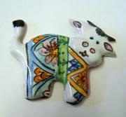 Work Ceramics - Cow magnetizes in ceramics by Maria Rosaria Dalessandro