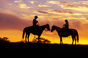 Ron Sanford and Photo Researchers - Cowboy and Cowgirl