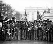 Saxophone Photos - Cowboy Band, 1929 by Granger