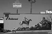 Cowboy Hat Originals - Cowboy Billboard  by Alex Lemus